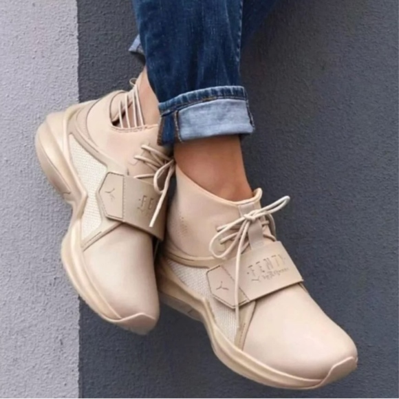 the best attitude a4895 3c6df NWOT PUMA FENTY by Rihanna Hi-Top Trainer Sneakers